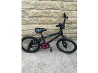 Apollo bmx 18 inch kids bike