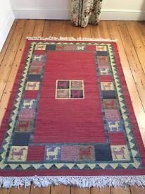 Rug Wool Ikea Red Aztec 1840x1280