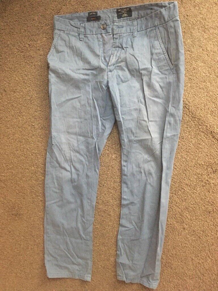 Jeans men trousers blue