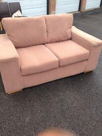 Sofa bed and matching sofa