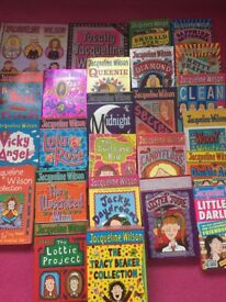 Jaqueline Wilson bundle of books