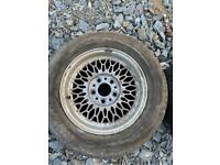 "BMW 13"" alloy wheels 4 stud"