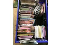 10P per item x Assorted Cards, books and wrapping paper