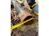 Cast iron drain