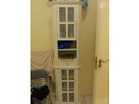 White shelving/cabinet unit