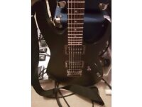 Ibanez RG421-WK, Sub Zero 5W tibe combo and 1x10 amp, Boss GT10 multi effects