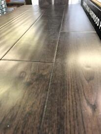 Solid Coffee Oak Handscraped Room Deal