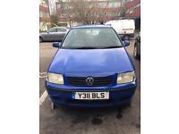 Volkswagen Polo 1.0L 2001 Blue