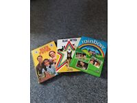 Blue Peter Twelfth and Nineteenth Books, and Rainbow Annual 1982