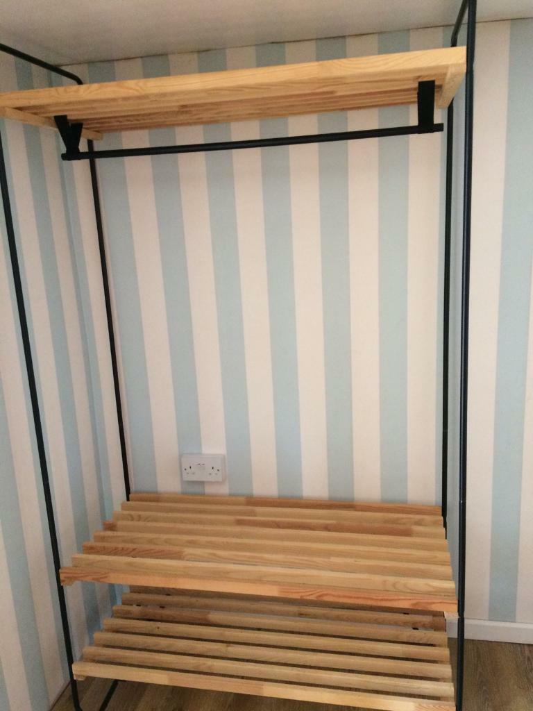 Ikea Hanging Rail Open Wardrobe In Milton Keynes