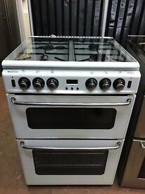 60CM WHITE NEWHOLME GAS COOKER