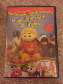 Music Is Fun With Jo Jingles UK DVD kids learning singing fun