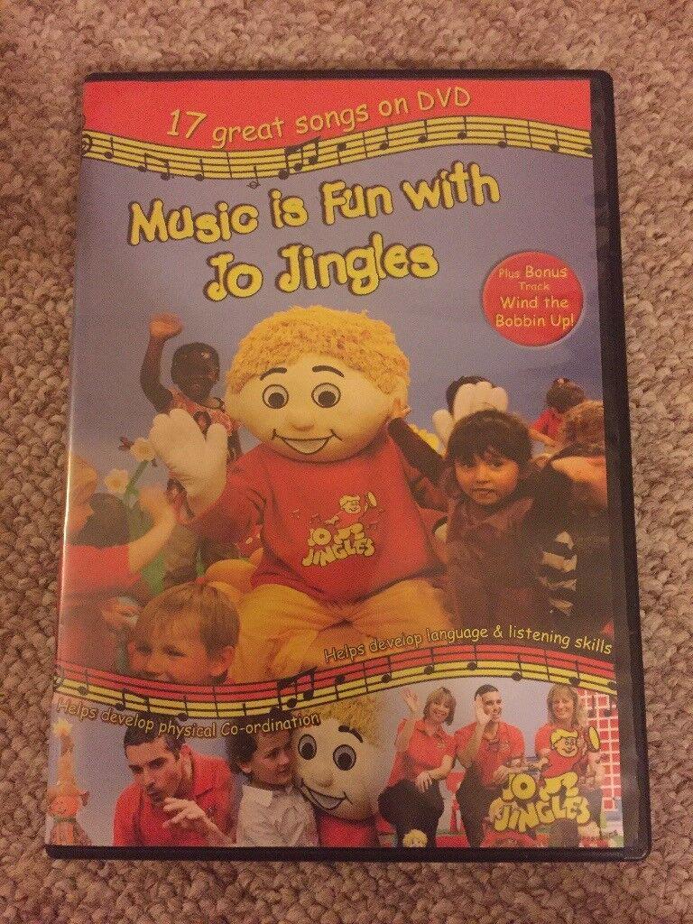 Music Is Fun With Jo Jingles UK DVD kids learning singing fun