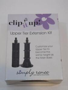 NIB Get Organized! Simply Renee CLIP IT UP Upper Tier Extension Kit