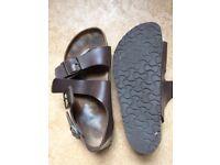 Birkenstock sandals size 40, not worn much