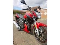 Lexmoto aspire 125cc motorcycle/ motorbike very similar to Yamaha ybr & cb125f