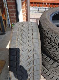 Winter tires 225/50R17 98V XL