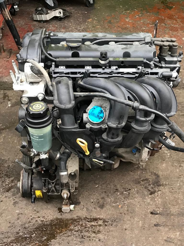 Ford Focus mk2 1.6 petrol complete engine 70k - fully running