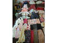 0-3 months baby girls clothes bundle 2