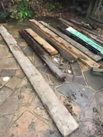 Free timber and pallet