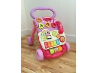 Vtech First Steps Baby Walkers including phones both working