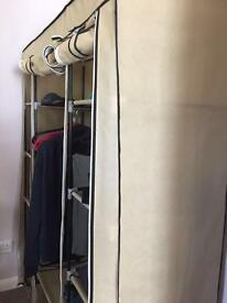 Triple canvas wardrobe