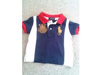 Boys Polo Ralph Lauren t-shirt / top in new condition