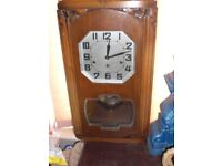 Superb working westminster chime clock