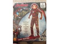 Avengers Age of Ultron Hulkbuster Dress Up Costume - 5 - 7 Years
