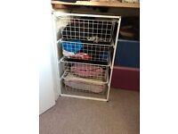 Frame/4 mesh basket