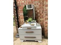 Midcentury Dresser/Chest Free Delivery Ldn shabby chic Chest of Drawers