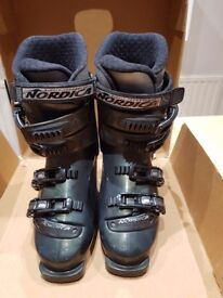 Ladies Nordica Ski Boots, size 7, cost £199 when new, worn 1 week only, excellent condition £45