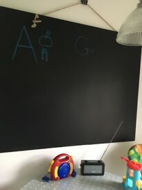 Huge hanging wall blackboard 5x4ft