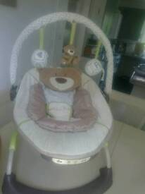 Mothercare loved so much baby bouncer / rocker