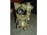 SURVEYING THEODOLITE WILD T2 - COLLECTORS ITEMS
