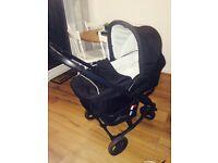 Hauck travel system pram/ pushchair / carrycot/ car seat