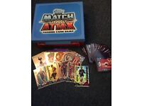 Match attax carry case and cards