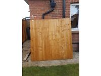 6ft x 6ft fence panel