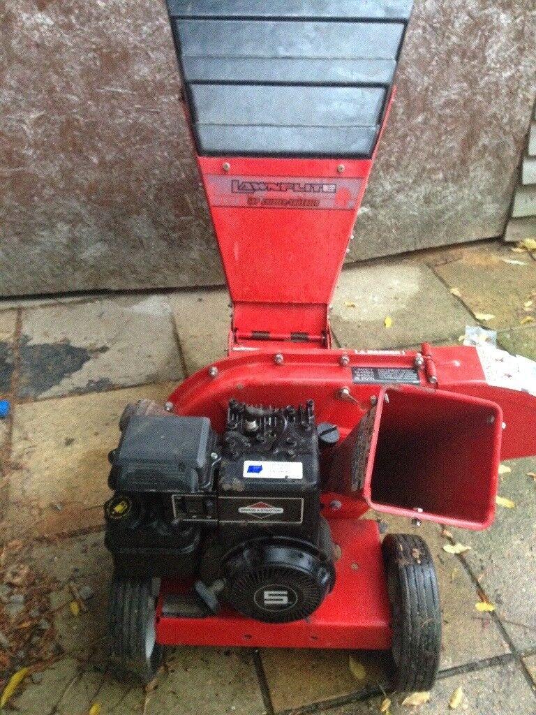 Lawnflite Petrol Chipper Shredder 5 Hp