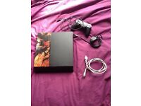 PS4 with controller and cables £105
