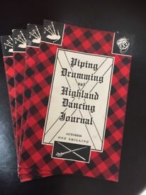 Bagpipe books, only four left!