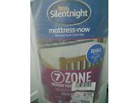 BRAND NEW Silentnight 7-Zone Memory Foam Mattress - For Double bed (135 x 190 cm)