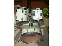 Sonor Sonorphonic Plus drum shell pack - Germany - '80s - White wrap - Link product