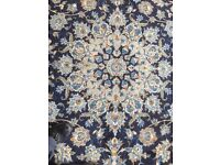 4.31m x 3.13m Large persian rug used but perfect condition cost £4500 new