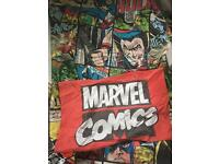 Superhero single bedding x2