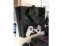 PS4 (Sony Playstation 4) Consoles, Black, CUH-1116A, 500GB, Unboxed with TWO Gamepads