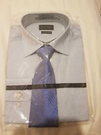 """Mens shirt and tie 16""""collar"""