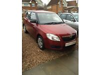 Skoda Fabia 5 door long mot good service history