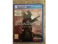 PS4 Game- Bloodborne- Game of the Year Edition