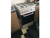 Lovely white Beko gas cooker